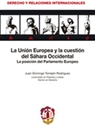 Imagen de UNION EUROPEA Y LA CUESTION DEL SAHARA OCCIDENTAL. LA POSICION DEL    PARLAMENTO EUROPEO